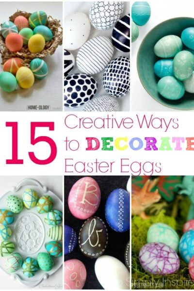 15 Creative Ways to Decorate Easter Eggs2