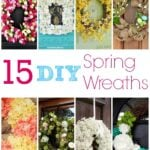 15 DIY Spring Wreath Ideas
