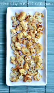 Crunchy Baked Cauliflower