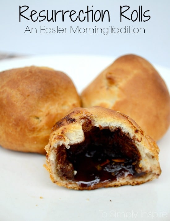 Making these Resurrection Rolls are a wonderful Easter tradition for your family each year. Delicious cinnamon sugar, buttery croissant rolls with a story of Jesus' resurrection for your children.