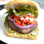 Roasted Portobella Mushroom Sandwich