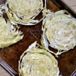Simple Baked Cabbage