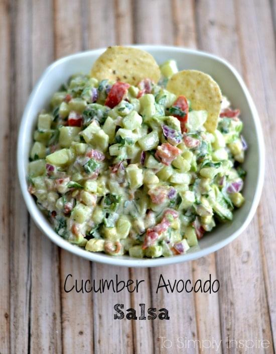 cucumber avocado salsa6