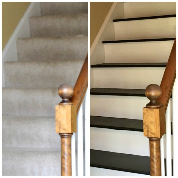 how to remove carpet from stairs and paint