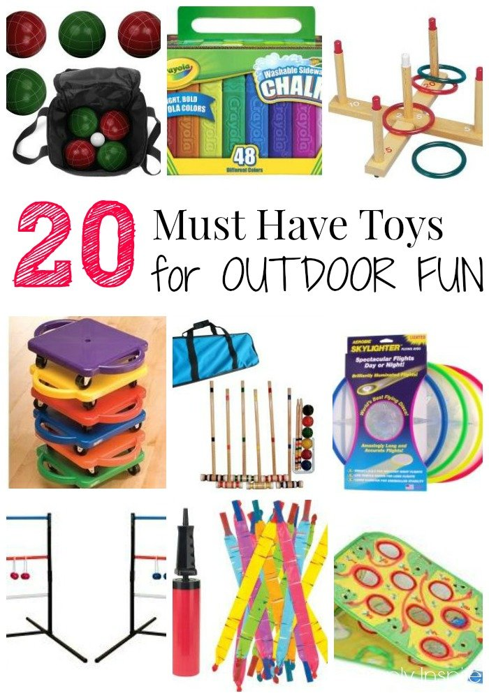 Toys For 20 : Must have toys for outdoor fun