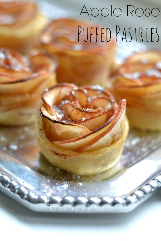 Apple Rose Puffed Pastries1