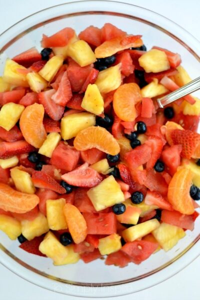 Fruit Salad with Honey Lime Dressing2