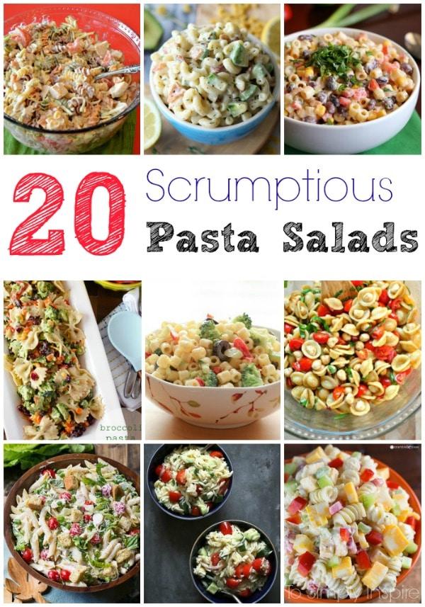 20 Scrumptious Pasta Salads