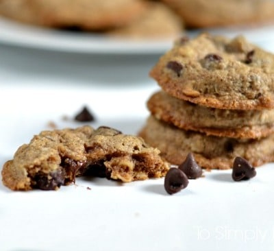 Amazing Healthy Oatmeal Chocolate Chip Cookies2