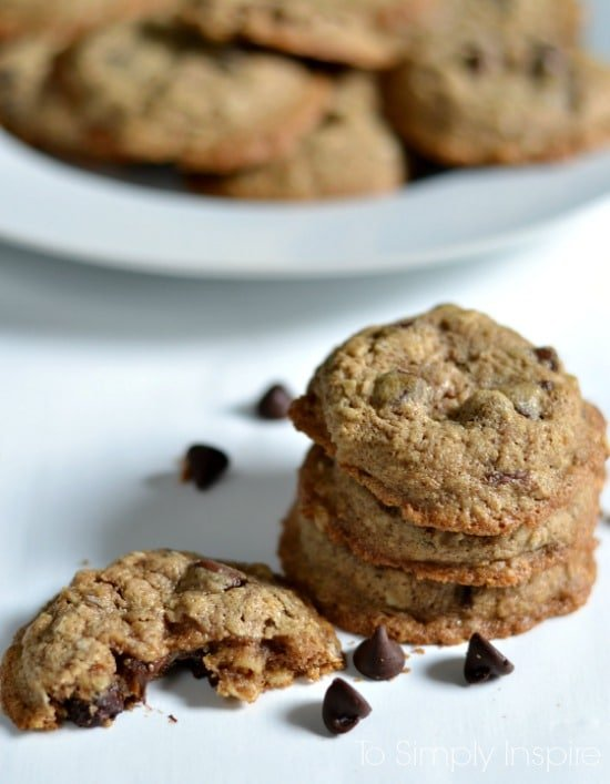 Oatmeal Cookies Chocolate Chips Brown Sugar Crumble