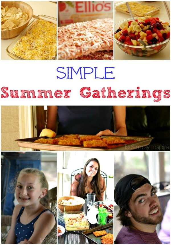 Simple Summer Gatherings