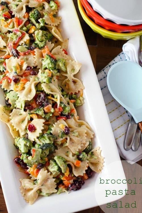 broccoil pasta salad