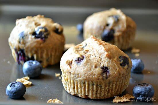 Blueberry Bran Muffins1