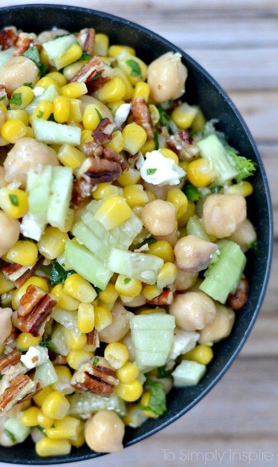 Chickpea Corn Salad2