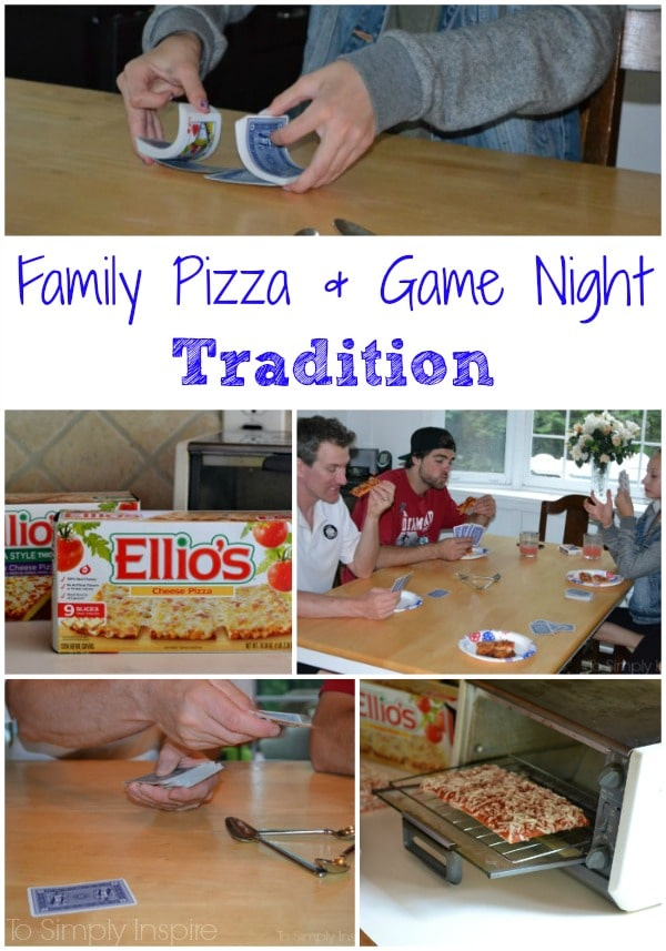 Family Pizza and Game Night Tradition
