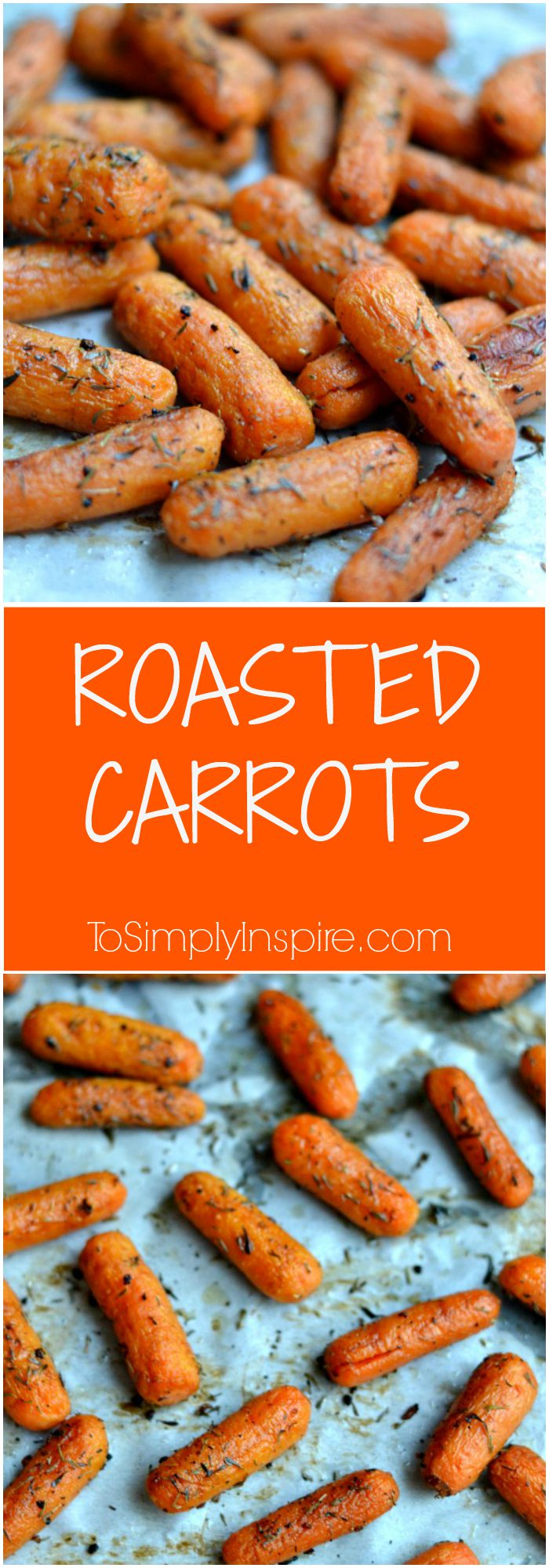These Roasted Carrots are a fabulously simple and quick way to a another healthy side to any meal
