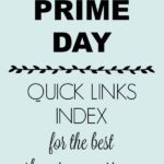 Amazon Prime Day Quick Links Index for Easier Shopping Experience