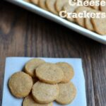 simple homemade cheese crackers