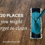 20 Places You Might Forget to Clean