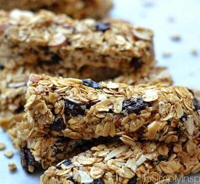 Maple Brown Sugar Granola Bars1