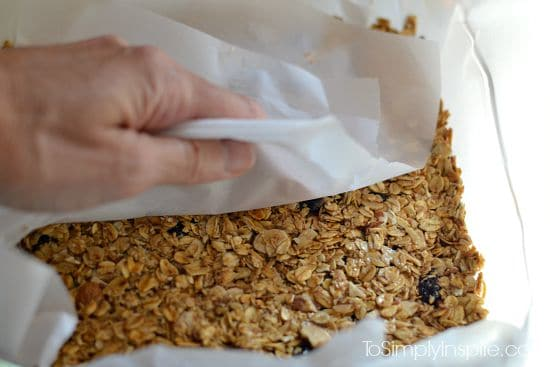 Maple Brown Sugar Granola Bars5
