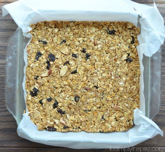 Maple Brown Sugar Granola Bars7