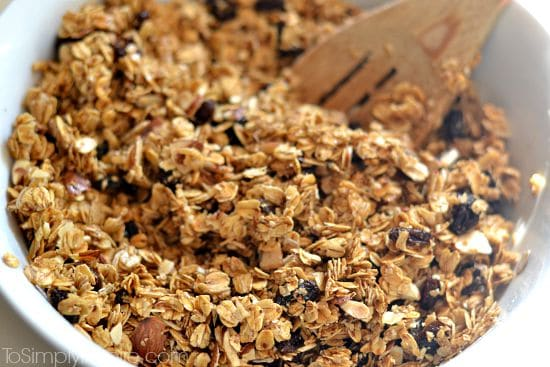 Maple Brown Sugar Granola Bars8