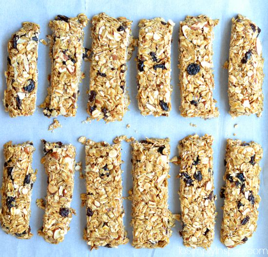 Maple Brown Sugar Granola Bars9