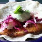 Blackened Flounder Tacos