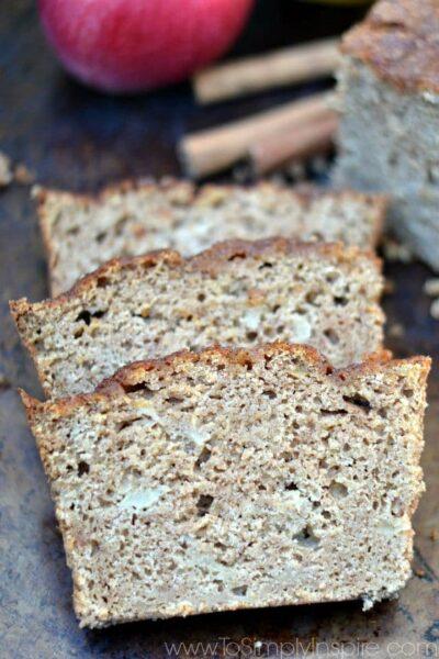 Cinnamon Applesauce Bread10