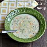 Creamy Zucchini and Carrot Soup4