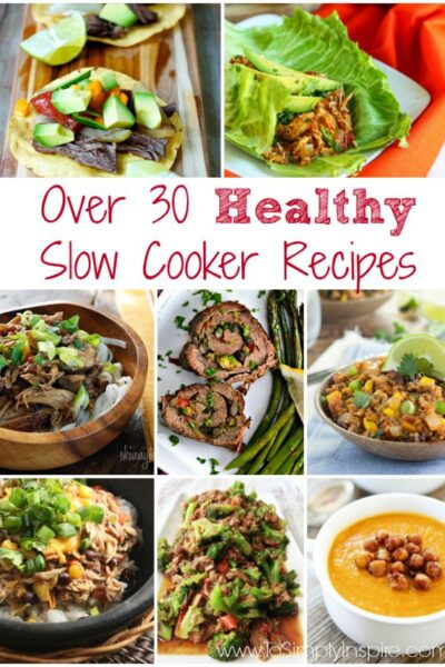 Healthy Slow Cooker Recipes1