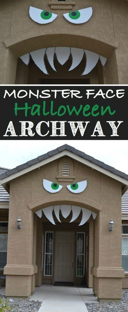 Fun Halloween Front Door Decorations - So many fun ways to to welcome your trick-or-treaters.