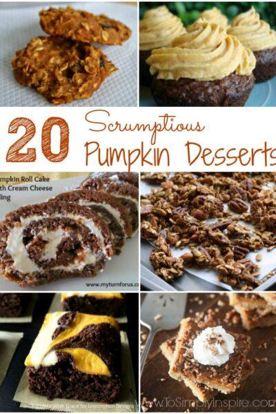 Pumpkin Desserts1