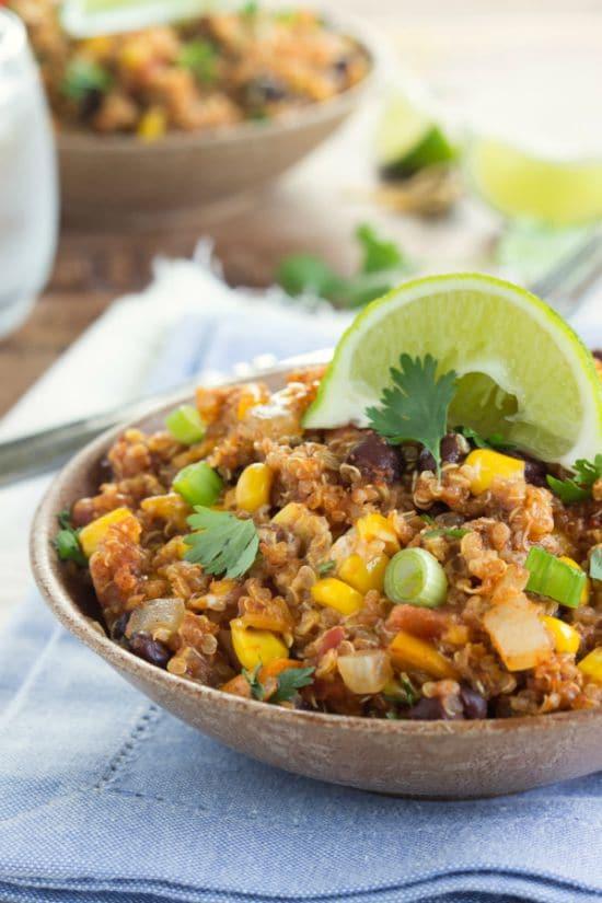 slow-cooker-cheesy-enchilada-quinoa