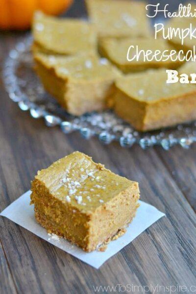 Healthy Pumpkin Cheesecake Bars7