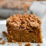 Healthy Pumpkin Coffee Cake
