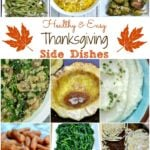 Healthy and Easy Thanksgiving Side Dishes