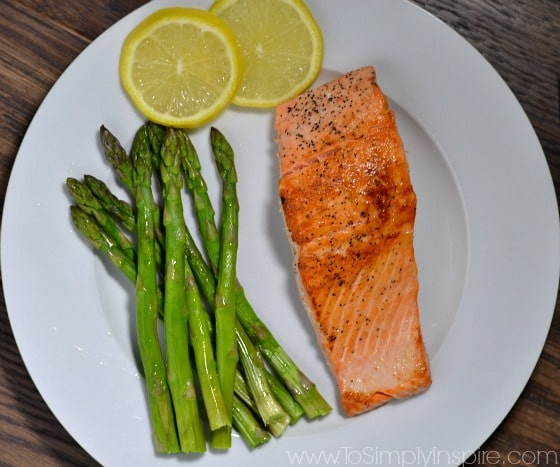 How to cook Salmon in a Pan