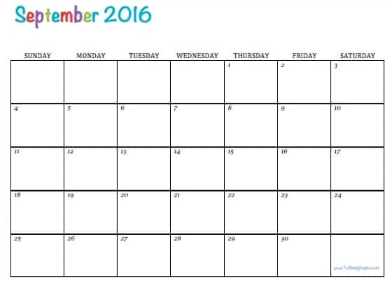 What's your favorite way to use your free printable 2016 calendars?
