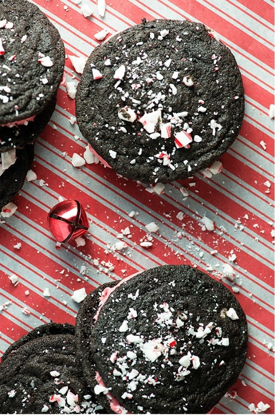 CHOCOLATE PEPPERMINT CREAM PIES