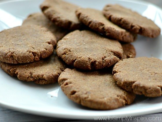 Gluten Free Gingerbread Cookies