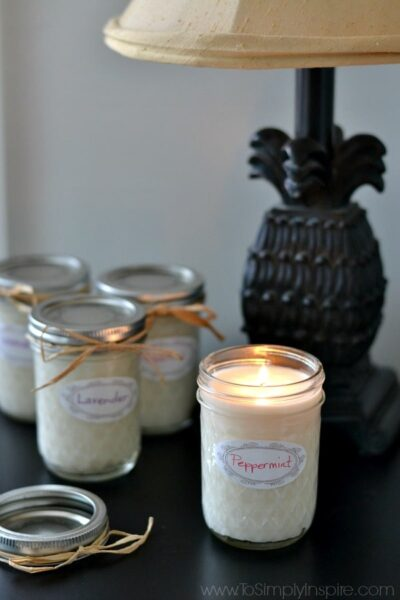 Homemade Soy Candles4