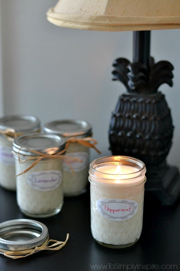 Homemade Soy Candles To Simply Inspire