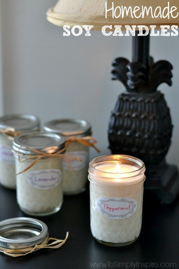Homemade Soy Candles5