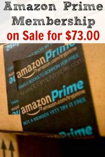 Amazon Prime Membership Sale1