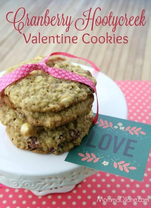 Cranberry Hootycreek – Valentine's Day Cookies