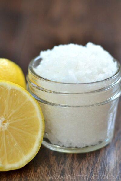 DIY Lemon Sugar Scrub3