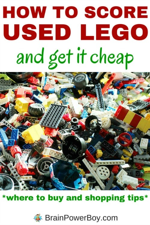 How to Score Used LEGO and Get It Cheap