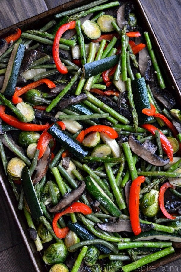 These Roasted Vegetables are the best and easiest way to prepare a huge variety of your favorites. Beautifully cooked to perfection and so full of flavor!